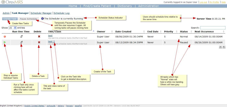 Quartz Scheduler User Guide - Documentation - OpenMRS Wiki