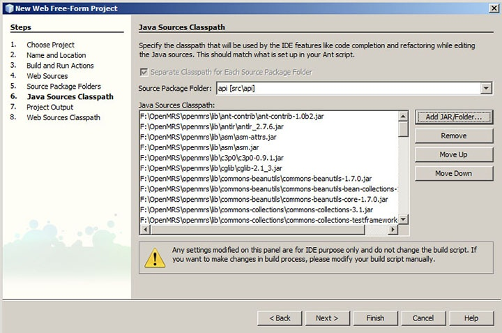 How-to Use Netbeans with OpenMRS 1 7 and Older (Non-Maven