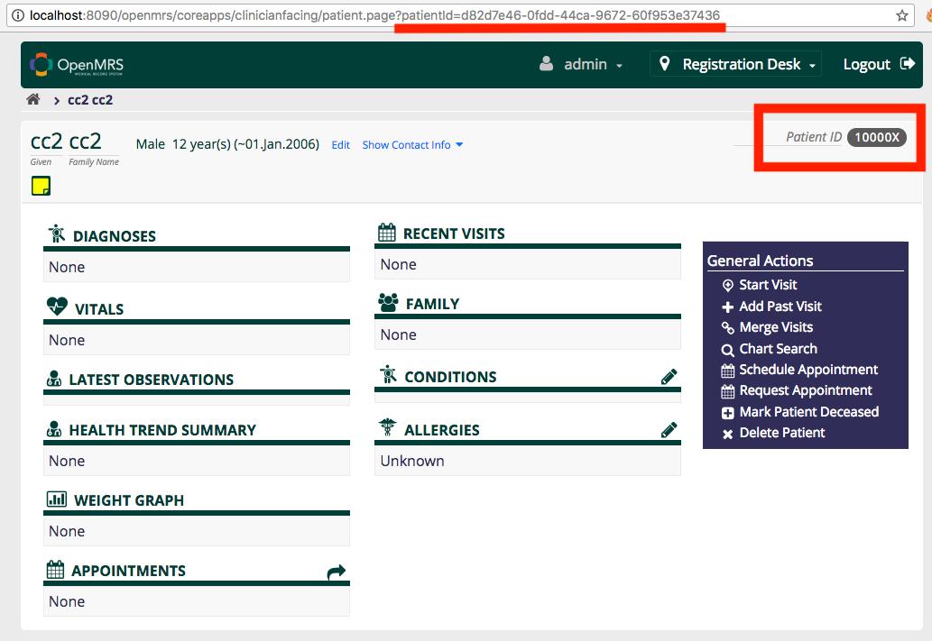 Registration Module - Documentation - OpenMRS Wiki
