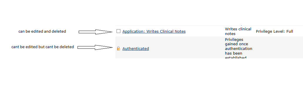 Controlling User Access (Roles and Privileges) - Documentation