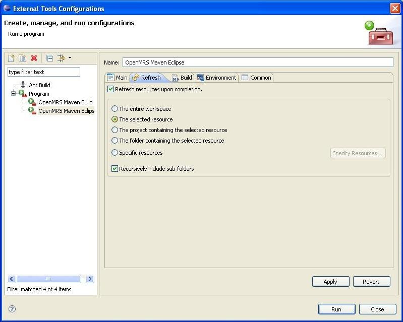Using the Maven plugin for Eclipse - Documentation - OpenMRS Wiki