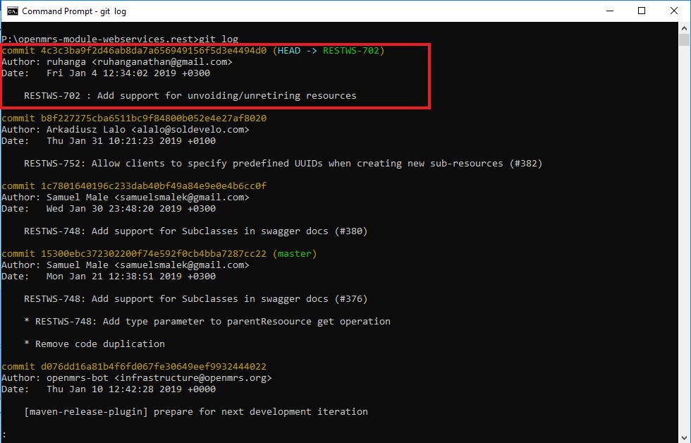 Git-Squashing commits - Documentation - OpenMRS Wiki