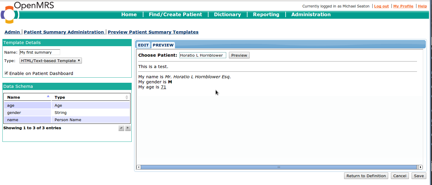 api document template - person data definitions ada east district hospital