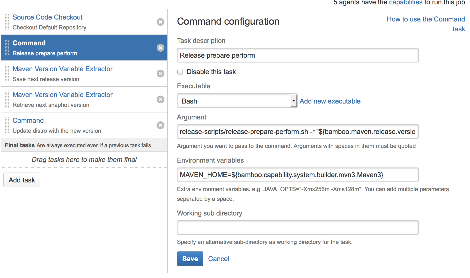 Configuring a Plan to Release from Bamboo - Documentation - OpenMRS Wiki