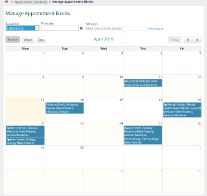 Appointment Scheduling Module - Documentation - OpenMRS Wiki
